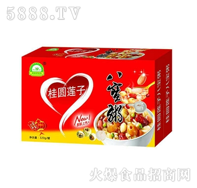 桂圆莲子营养八宝粥