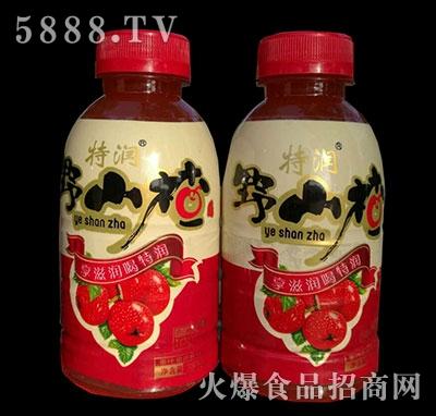 特润野山楂果汁380ml