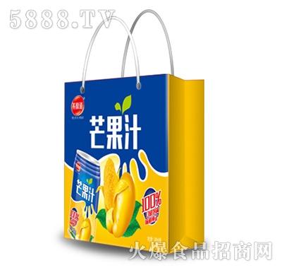 养原道芒果汁手提袋