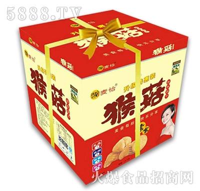 麦恰猴菇酥性饼干礼盒