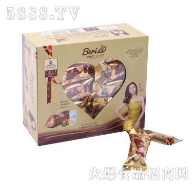 贝瑞丝三层巧克力(600g盒装)