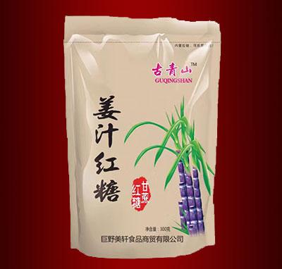 古青山姜汁红糖300克(袋)