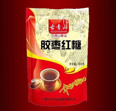 古青山胶枣红糖300g
