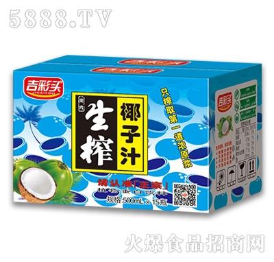 500mlx15瓶吉彩头生榨椰子汁