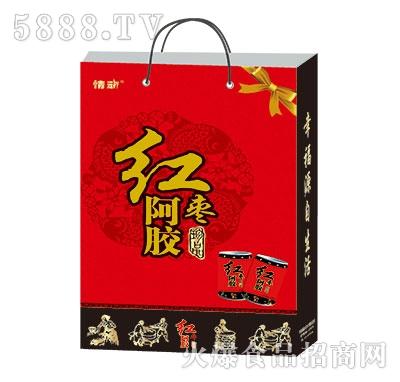 红枣阿胶汁手提袋