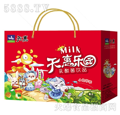天惠乐园小兔子乖乖乳酸菌饮品礼盒
