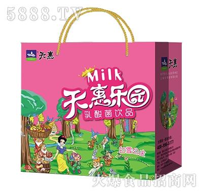 天惠乐园系列白雪公主乳酸菌饮品