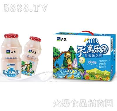 天惠乐园猴子捞月乳酸菌饮品