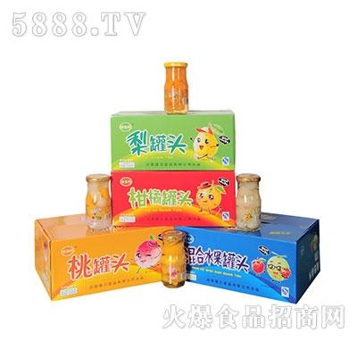 德盛恒混合水果罐头箱装