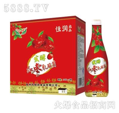 恒润发酵红枣乳酸菌1.25L*6