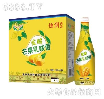 恒润发酵芒果乳酸菌1.25L*6