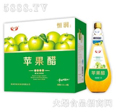 恒润苹果醋1.5L*6