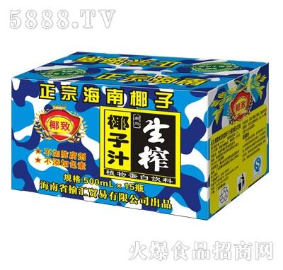 椰致生榨椰子汁500ml*15