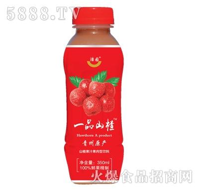 浩园一品山楂果汁果肉型饮料350ml