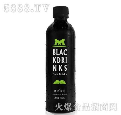 情动黑水水蜜桃水果味480ml