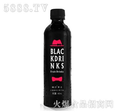 情动黑水水蜜桃水果饮料480ml