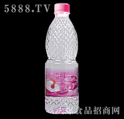 特润鲜果水(蜜桃风味)600ml