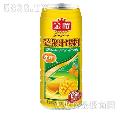 铁罐生榨芒果汁960ml