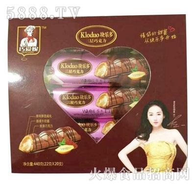 块乐多三层巧克力(22G*20盒)