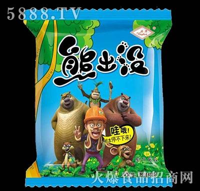 兴华熊出没膨化食品散称