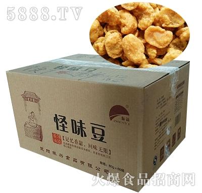 振益蟹香味怪味豆散装箱2.5kgx4袋