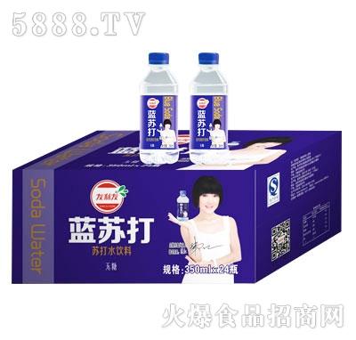 友利友蓝苏打饮料350mlx24