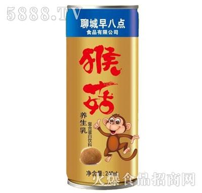 早八点猴菇养生乳复合蛋白饮料240ml