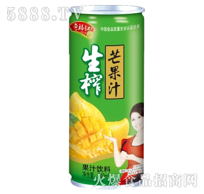 奇福记生榨芒果汁果汁饮料240ml