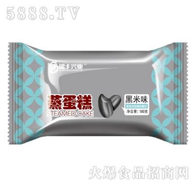 瑞丰兴业蒸蛋糕黑米味180g