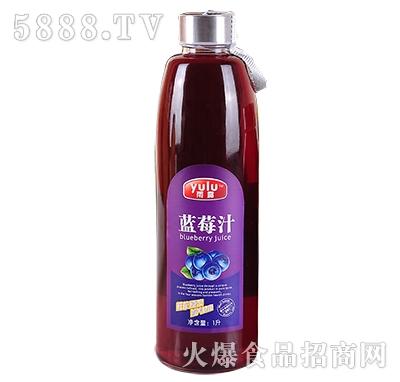 雨露蓝莓汁1L