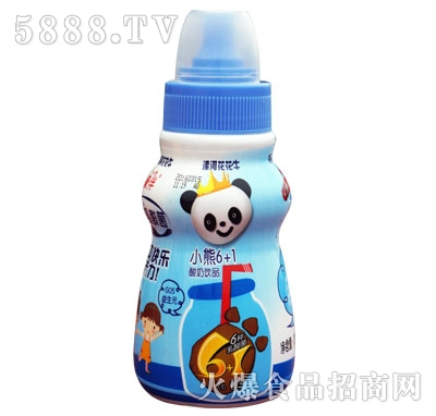 康伴小熊6+1酸奶饮品(瓶)