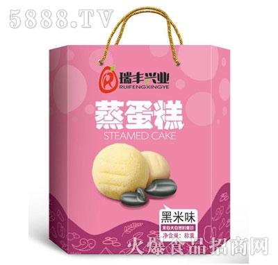 瑞丰兴业蒸蛋糕黑米味(箱)
