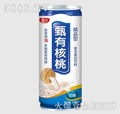 甄浓甄有核桃低糖精品型240ml
