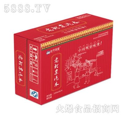 老北京汽水330mlx24
