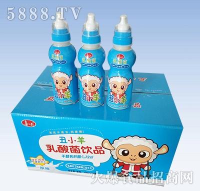 喜三郎丑小羊乳酸菌饮品箱装原味200mlx24瓶