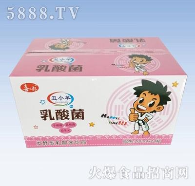 喜三郎丑小羊发酵型乳酸菌饮品箱装200mlx24瓶