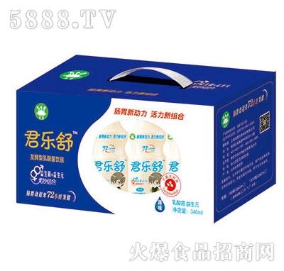 君乐舒发酵型乳酸菌饮品340ml