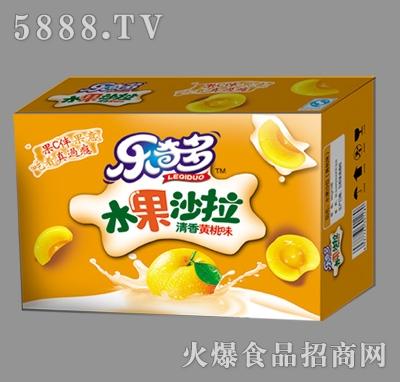 乐奇多水果沙拉黄桃味箱装