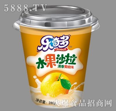乐奇多水果沙拉黄桃味280g