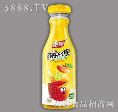 酷多纷果乐e族苹果+山楂味果味饮料480ml