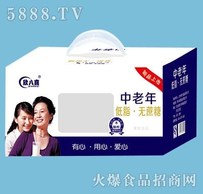 欣八喜中老年低脂无蔗糖饮品250mlx12盒