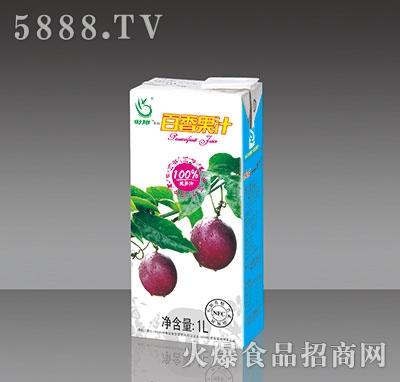 1L傣乡果园百香果(西番莲)果汁内盒