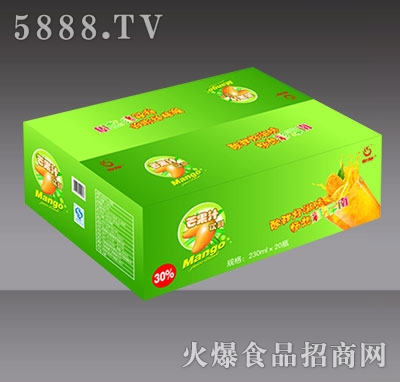 230mlx20瓶傣乡果园芒果汁