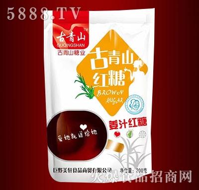 古青山姜汁红糖300克(袋装)