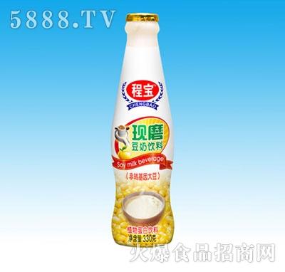 程宝现磨豆奶330g