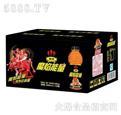程宝魔焰能量维生素饮料600mlX15