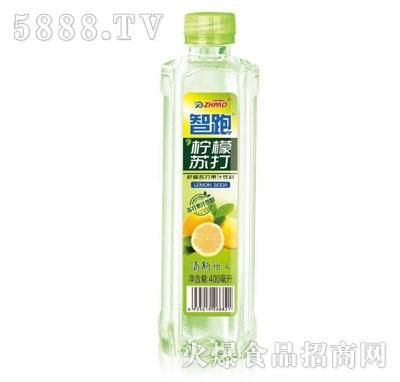 智跑柠檬苏打水400ml