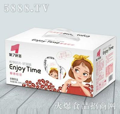 第7食客醇香红豆谷物饮品250mlX12