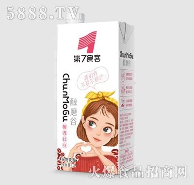 第7食客醇香红豆谷物饮品1L
