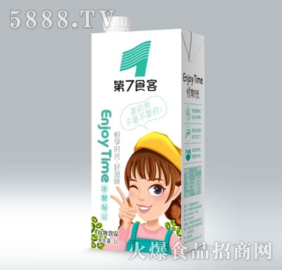 第7食客冰糖绿豆谷物饮品1L